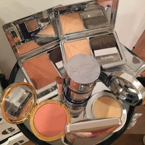 Liliya's La Prairie makeup