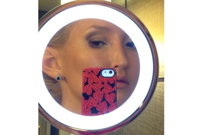 Liliya Anisimova's skin care regimen