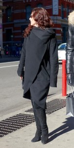 all black dressing