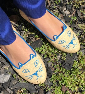 Liliya's kitty flats for a day of art and culture in L.A.