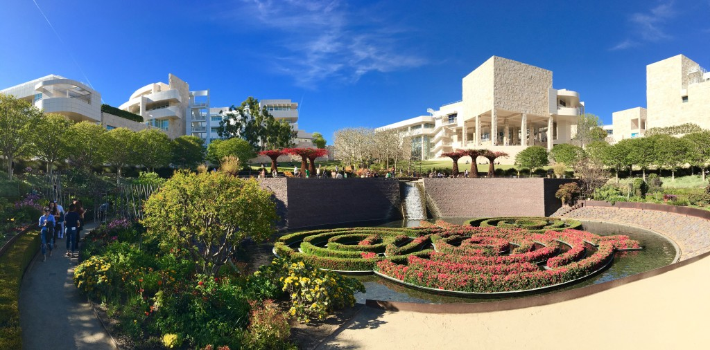 The Getty, L.A.