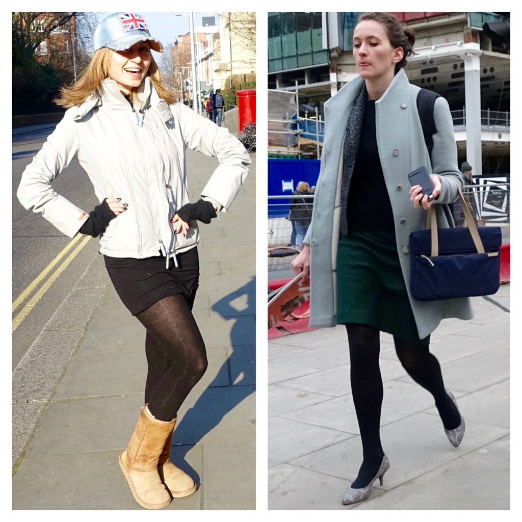 black tights in London