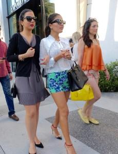 L.A. dress is generally bold