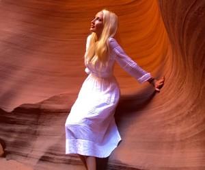 Liliya Anisimova's photo shoot
