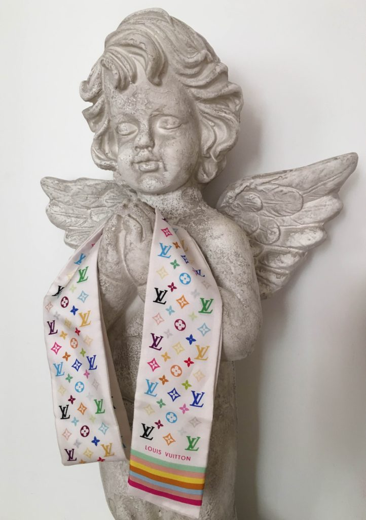 Liliya Anisimova's scarf for a Met exhibit