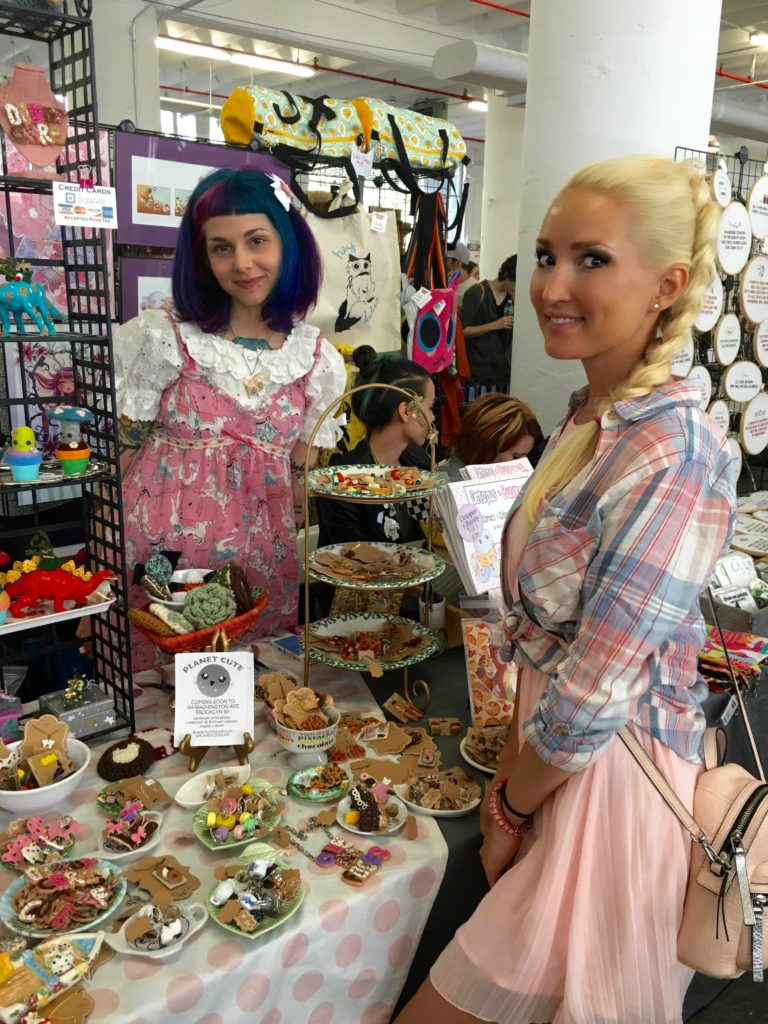 Liliya Anisimova's outfit for a craft fair