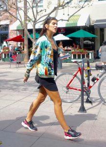 Sporty sneaker style