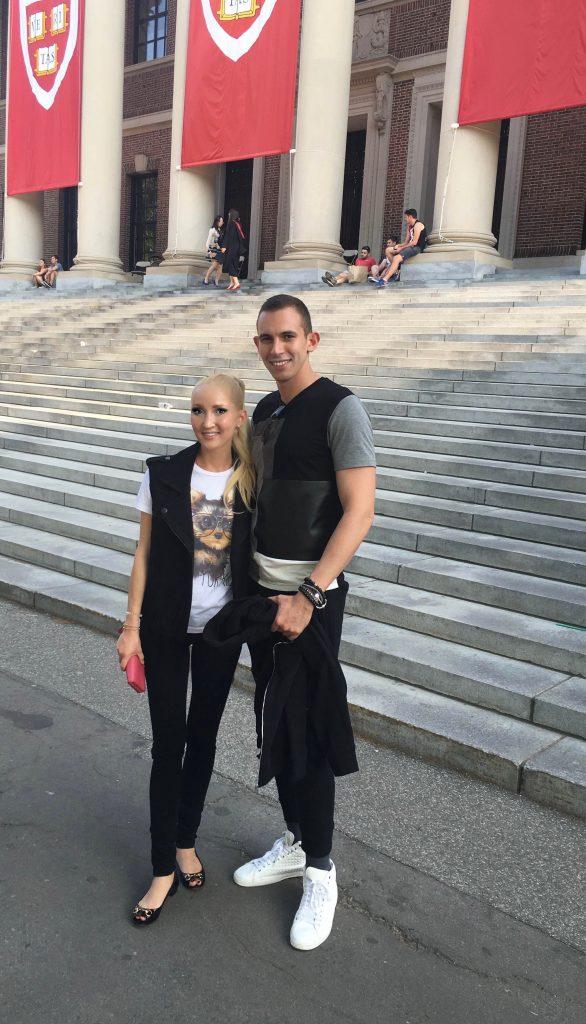 Liliya and Kostya
