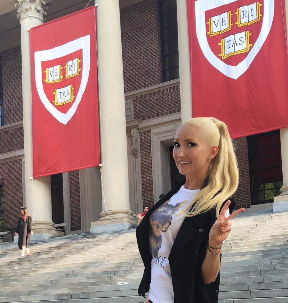 Liliya's #ootd at Harvard