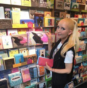Liliya grad card shopping