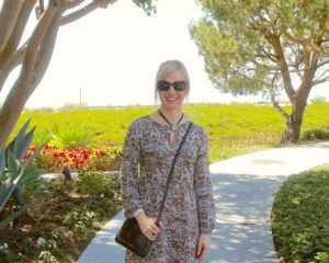 Janea's outfit of the day near Laguna Beach