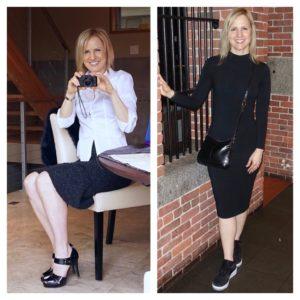 Stilettos to sneakers