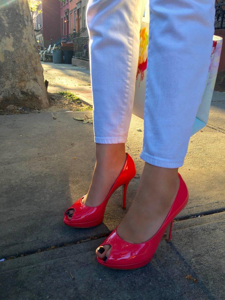 Liliya's Dior high heels