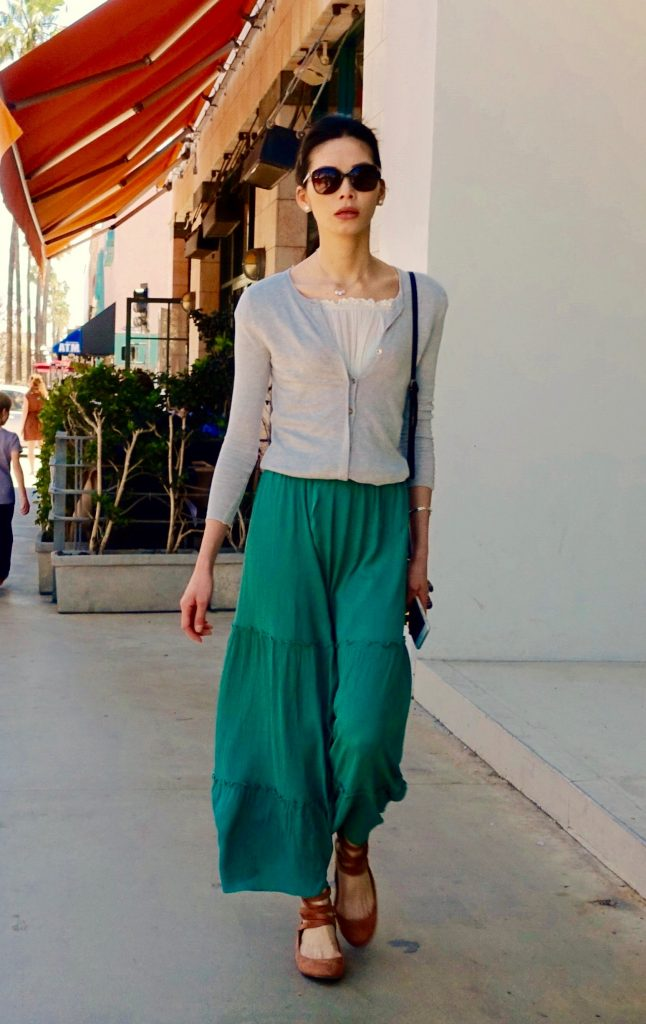 Tiered trousers, L.A.