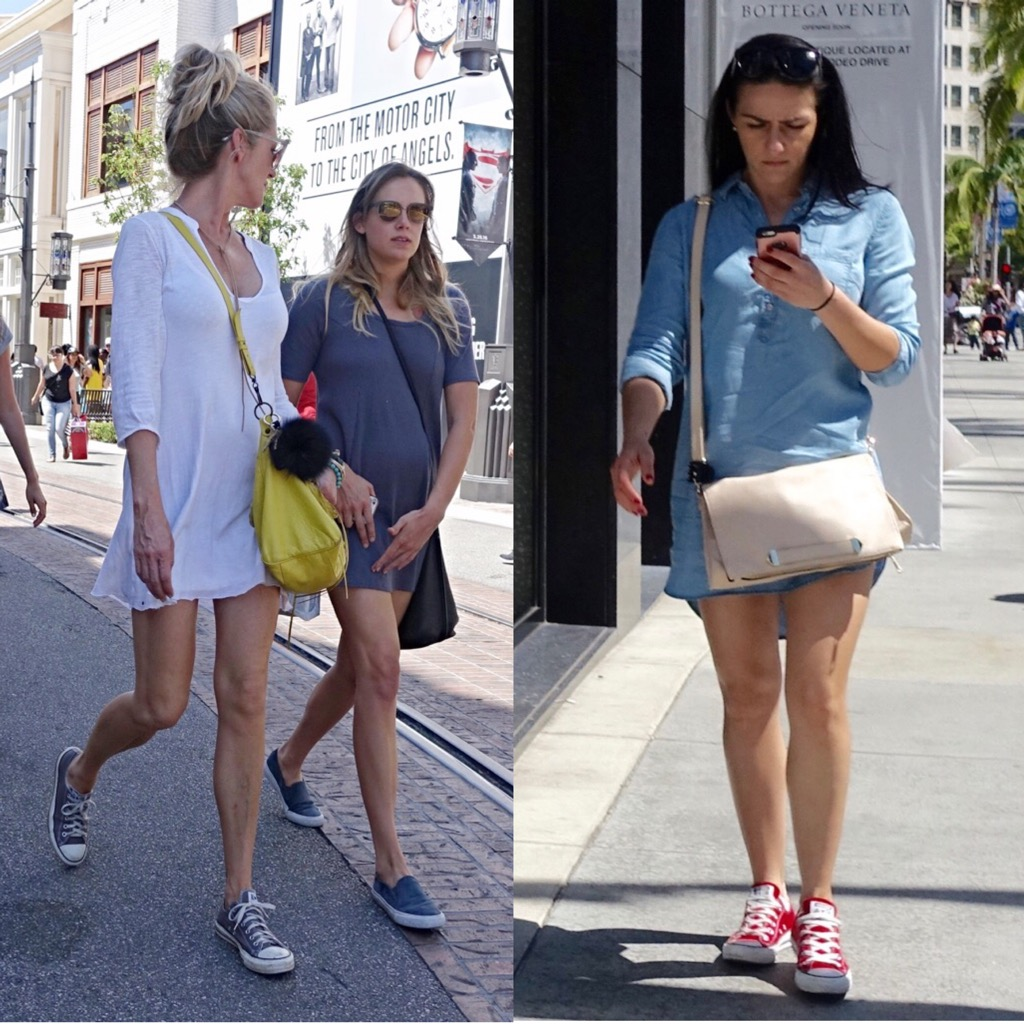 Converse street style in L.A.