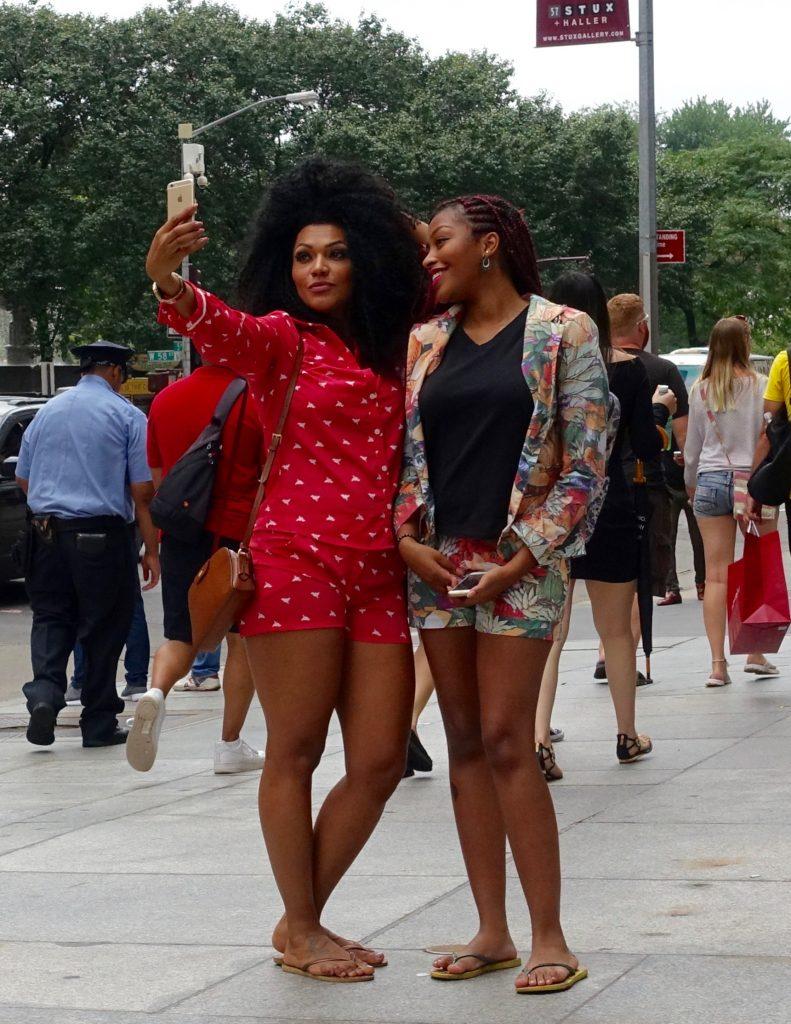 Bergdorf Goodman selfie