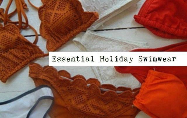 essential holiday swimwear