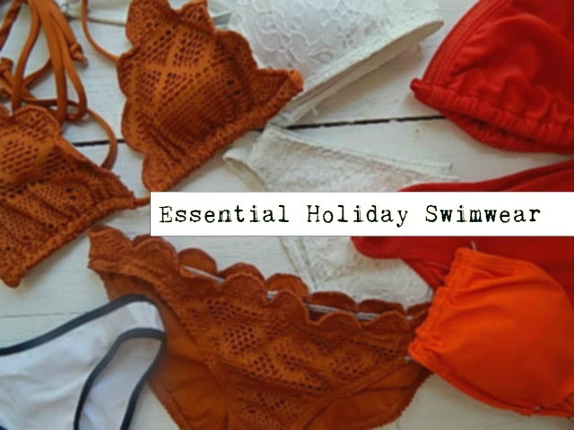 essential holiday swimwear