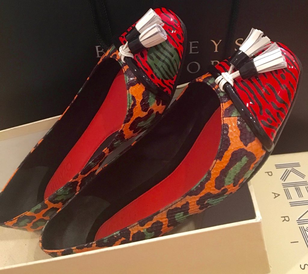 red Kenso Paris shoes