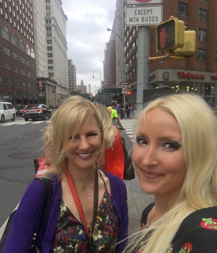 Liliya and Janea