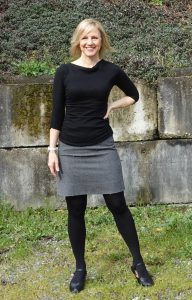 Lighter skirt - yikes!