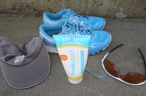 Sunscreen for running, body