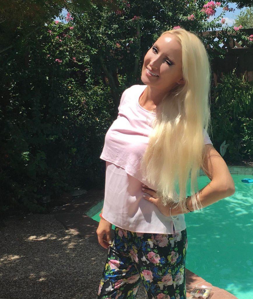 Liliya's floral pants
