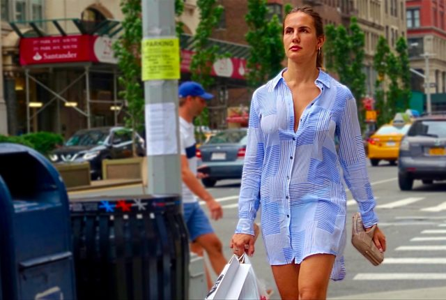 Button-down street style