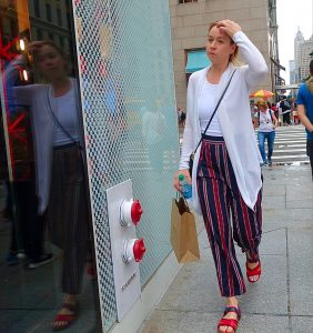 How to wear a long white cardigan