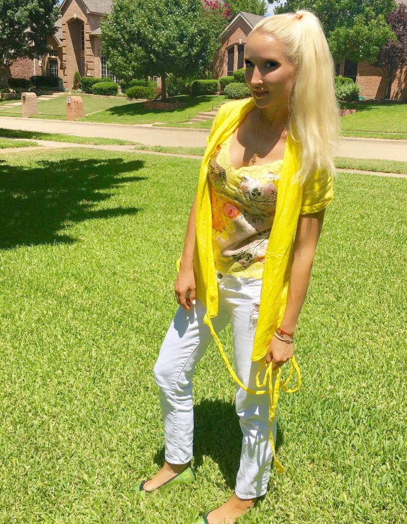 Liliya in yellow, 2