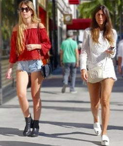 Short shorts in L.A.