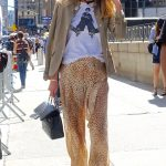 Fun street style for the Jeremy Scott show, 4