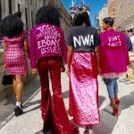 Political fashion for the Jeremy Scott show