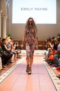 Project Runway's Emily Payne's NYFW show, 3