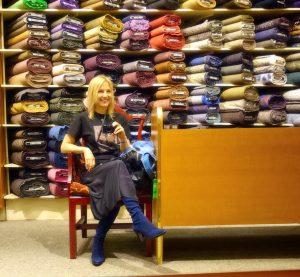Janea at Britex, SFFW