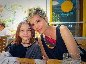 Emily Payne and her daughter Devon