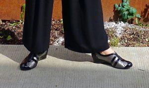 My dressy Taryn Rose sneakers