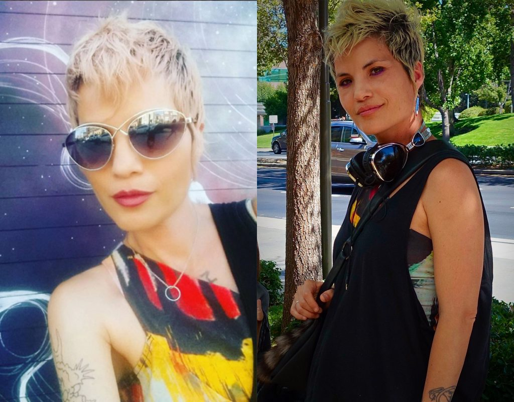 Emily Payne in New York and California