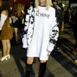 Black & white at Alexander Wang SS17 show