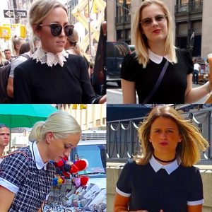 Collars during NYFW