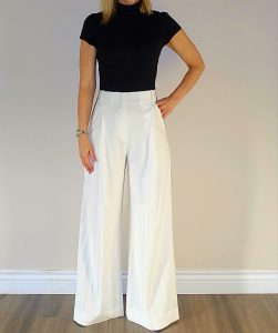Oversized pants outfit