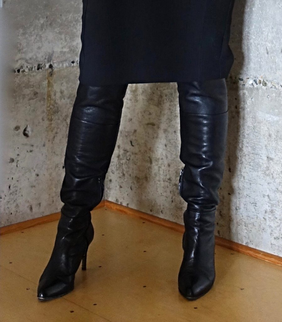 My over-the-knee boots