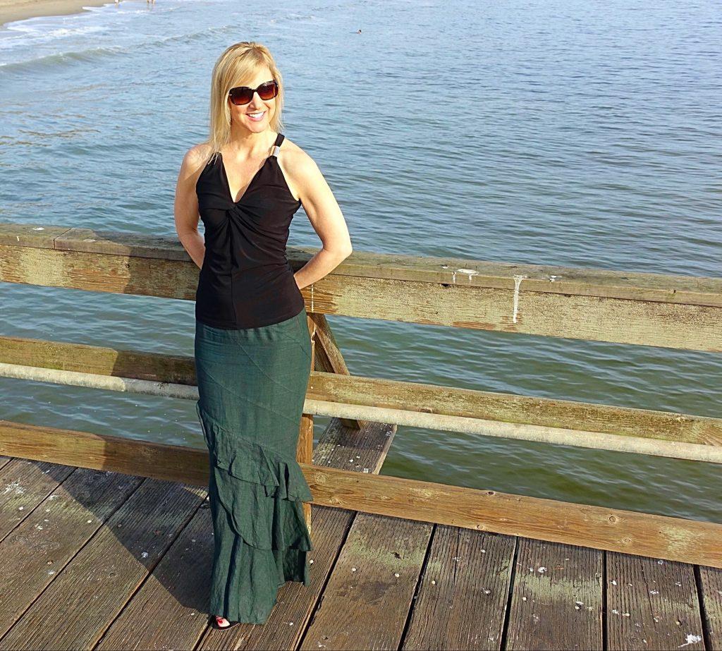 Mermaid skirt outfit
