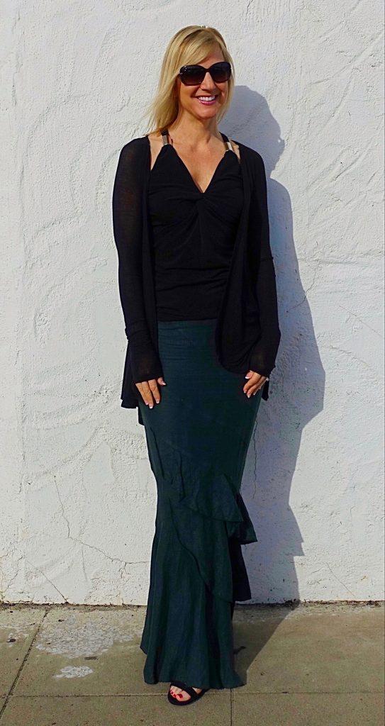 Mermaid skirt and long top