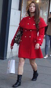 Winter statement coat