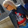 Graphic tee street style