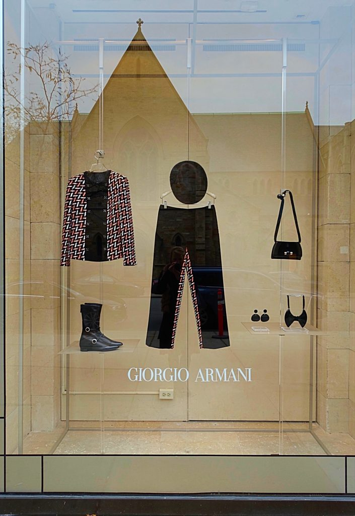 Georgio Armani boutique in Boston