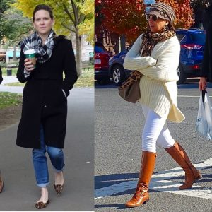 Boston cold-weather street style. 6