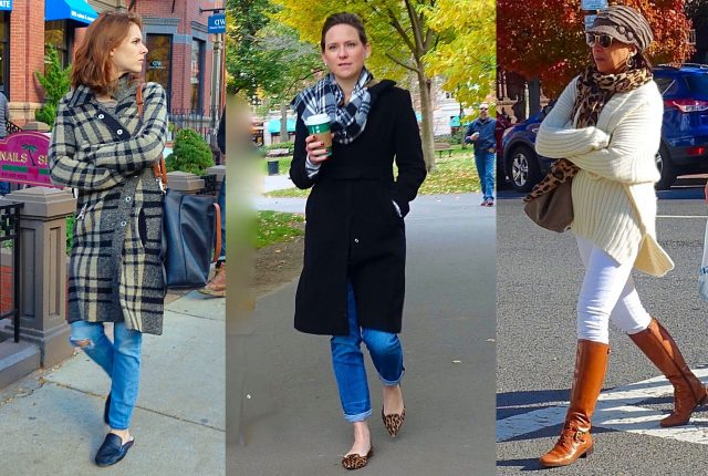 Boston cold weather street style
