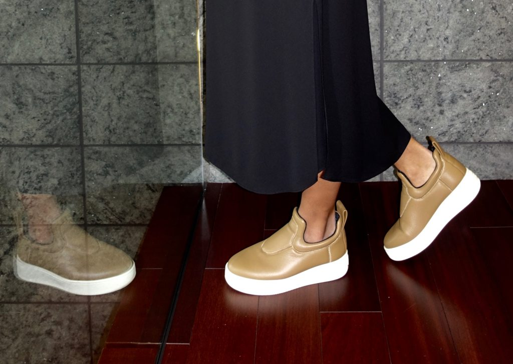 Christina's Céline pull-on sneakers